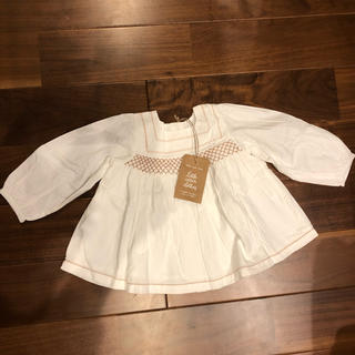 little cotton clothes  2020AW  ブラウス