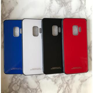 ギャラクシー(Galaxy)のシンプル&耐衝撃背面9Hガラスケース GalaxyS9/GalaxyS9+(Androidケース)