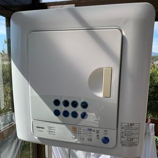 トウシバ(東芝)の東芝 衣類乾燥機 6キロ(衣類乾燥機)