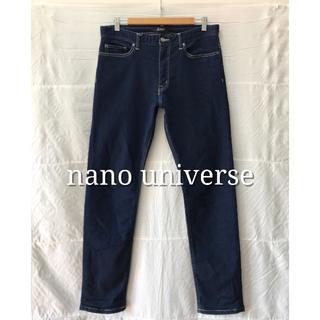 ナノユニバース(nano・universe)のnano universe ナノユニバース ストレッチデニム Lサイズ ジーンズ(デニム/ジーンズ)
