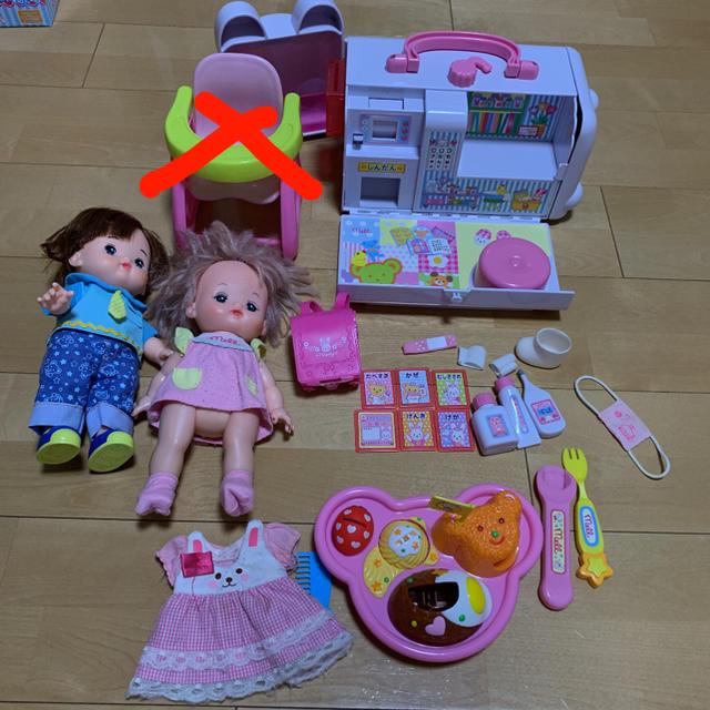 PILOT(パイロット)のお値下げ メルちゃん あおくん 救急車 ランドセル ごはんセット キッズ/ベビー/マタニティのおもちゃ(ぬいぐるみ/人形)の商品写真