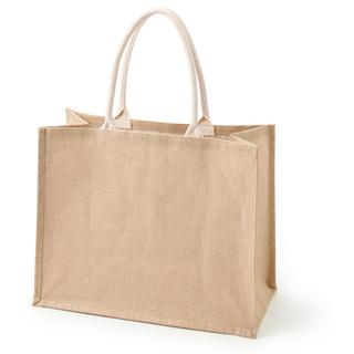 ムジルシリョウヒン(MUJI (無印良品))の【新品未使用】A3 ジュートマイバッグ 無印良品(トートバッグ)