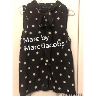 マークバイマークジェイコブス(MARC BY MARC JACOBS)のMARC BY MARC JACOBS ボウタイトップス(カットソー(半袖/袖なし))