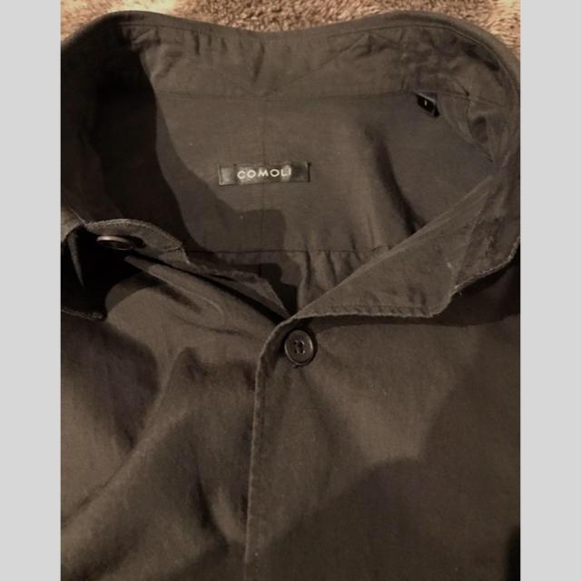 COMOLI(コモリ)のcomoli コモリシャツ 19SS ブラック メンズのトップス(シャツ)の商品写真