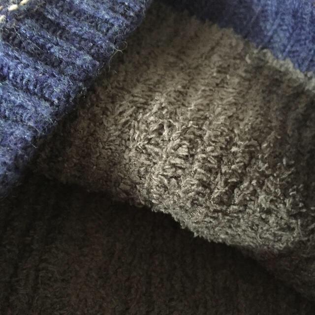 mont bell(モンベル)のモンベル  ニット帽 キッズ   おまけ付き キッズ/ベビー/マタニティのこども用ファッション小物(帽子)の商品写真