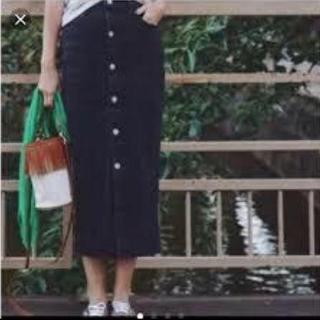 ロンハーマン(Ron Herman)のロンハーマン ヴィンテージ フロントボタンスカート(ロングスカート)