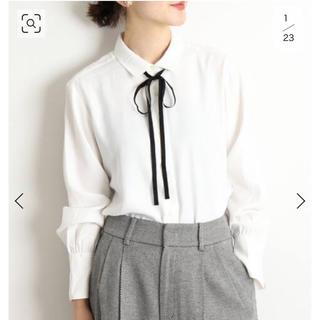 IENA - IENA sese リボンタイシャツ