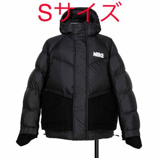サカイ(sacai)のNike x sacai Men's Parka ダウンジャケット S ブラック(ダウンジャケット)
