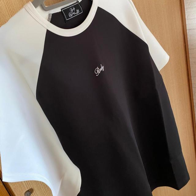Rady(レディー)のrady バイカラーTシャツ スポーティTシャツ レディースのトップス(Tシャツ(半袖/袖なし))の商品写真