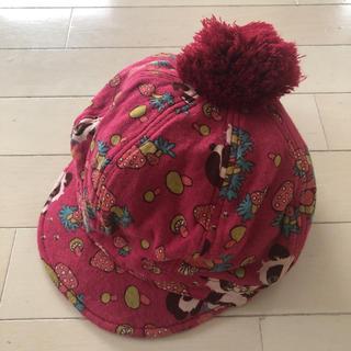 グラグラ(GrandGround)のグラグラ 帽子 80 90 52 バナバナ jam チェリッチュ ラブレボ(帽子)