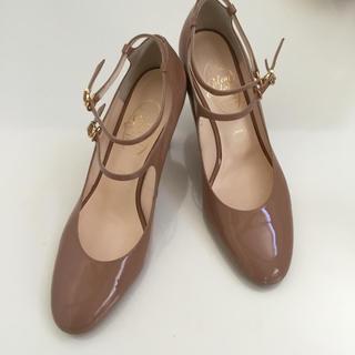 ギンザワシントン(銀座ワシントン)のほぼ新品 ワシントン靴 エナメル 25cm(ハイヒール/パンプス)