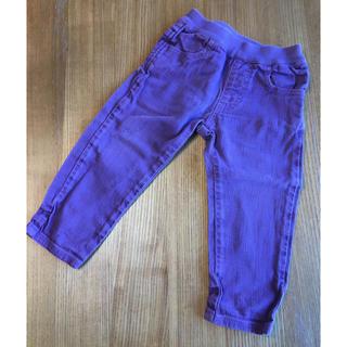 マーキーズ(MARKEY'S)のMARKEY'S マーキーズ  jippon 紫 パンツ 80cm(パンツ)