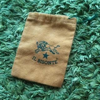 イルビゾンテ(IL BISONTE)のIL BISONTE☆巾着袋(コインケース/小銭入れ)