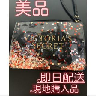 ヴィクトリアズシークレット(Victoria's Secret)の【現地購入品】Victoria's Secret ハンドバッグ 小物入れ ポーチ(ポーチ)