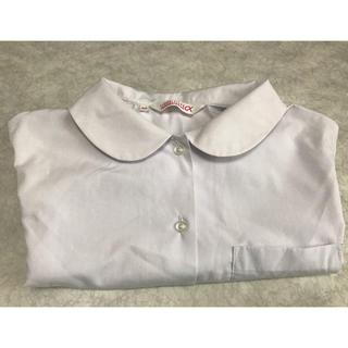 スクールシャツ 丸襟 半袖 未使用(シャツ/ブラウス(半袖/袖なし))