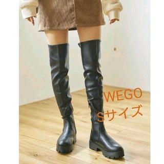 ウィゴー(WEGO)の新品タグ付き wego ストレッチ ニーハイ ブーツ (ブーツ)