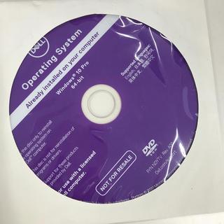 デル(DELL)のWindows10 pro リカバリDVD(PC周辺機器)