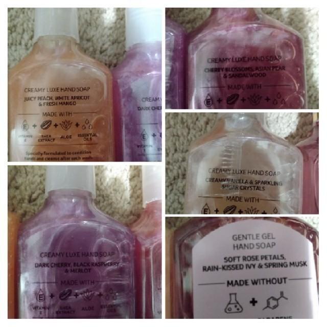 Bath & Body Works(バスアンドボディーワークス)の★bath and bodyworks クリーミーハンドソープ 10点 コスメ/美容のボディケア(ボディソープ/石鹸)の商品写真