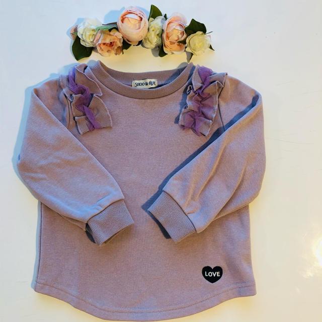 petit main(プティマイン)の♡ibuibu8281さま専用♡シューラルー100 shoo la rue  キッズ/ベビー/マタニティのキッズ服女の子用(90cm~)(Tシャツ/カットソー)の商品写真