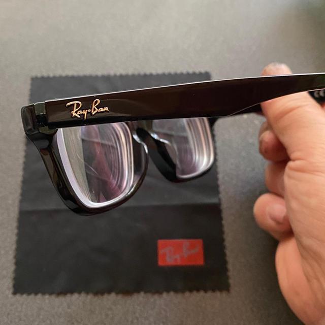 Ray-Ban(レイバン)の即購入OK  超美品 Ray-Ban メガネ メンズのファッション小物(サングラス/メガネ)の商品写真