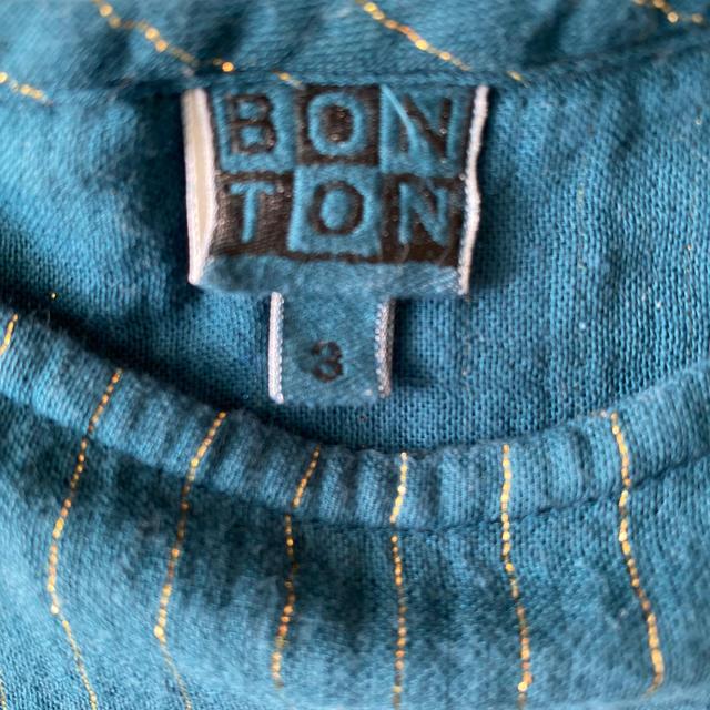 こどもビームス(コドモビームス)のBONTON ワンピース 3A  キッズ/ベビー/マタニティのキッズ服女の子用(90cm~)(ワンピース)の商品写真
