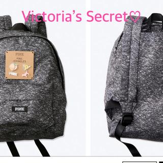 Victoria's Secret - Victoria's Secret PINK リュックサック(グレー)♡