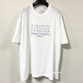 Maison Martin Margiela - 国内正規 極美品 最新モデル 2020 マルタンマルジェラナンバーロゴ Tシャツ
