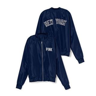 Victoria's Secret - 新品 ヴィクトリアシークレット PINK MLB ヤンキース NY ジャケット