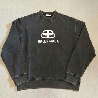 Balenciaga - バレンシアガ オーバーサイズ BB スウェット 19FW