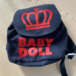 ベビードール(BABYDOLL)の[中古]BABY DOLLリュック kids(リュックサック)