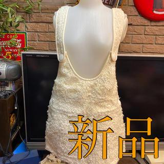 ピンクラテ(PINK-latte)の新品ピンクラテサロペットスカート定価3465サイズs(ミニスカート)