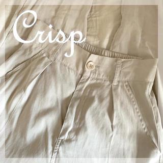 クリスプ(Crisp)のCrisp モイストマニッシュパンツ テーパードパンツ(カジュアルパンツ)