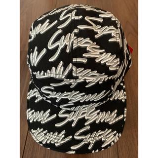 シュプリーム(Supreme)のシュプリーム Signature Script Logo Camp Cap (キャップ)