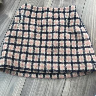 ボンポワン(Bonpoint)の美品 ボンポワン ウールスカート 冬 タイト スカート(スカート)