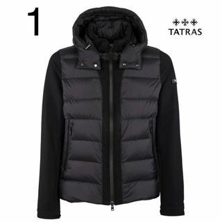 タトラス(TATRAS)のタトラス/TATRAS SABBIA ダウンジャケット ブラック 1 モンクレ(ダウンジャケット)