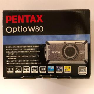 ペンタックス(PENTAX)のPENTAX  Optio W80 防水デジタルカメラ(コンパクトデジタルカメラ)