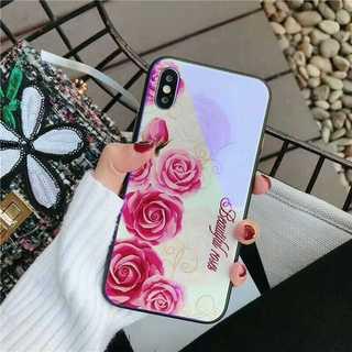 iPhone8 /iPhone7 薔薇 ケース ホワイト 花柄 カバー