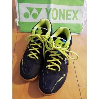 YONEX - ヨネックス バドミントンシューズ 27cm 黒 新品YONEXナイロンバッグ付き