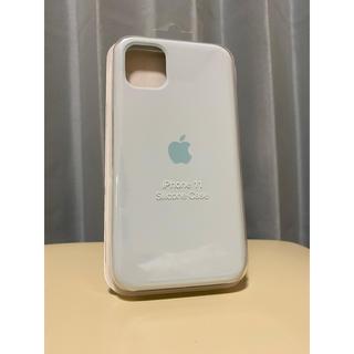 アップル純正 iPhone 11 シリコンケース シーフォーム