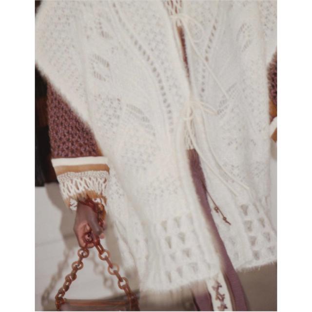 mame(マメ)のmame kurogouchi 今期 ブラック 20aw レディースのトップス(ニット/セーター)の商品写真