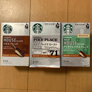 Starbucks Coffee - スターバックス オリガミ3種類14P