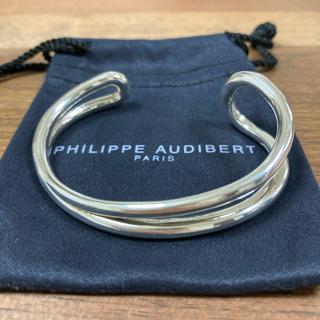 フィリップオーディベール(Philippe Audibert)のPHILIPPE AUDIBERT / Anneバングル(ブレスレット/バングル)