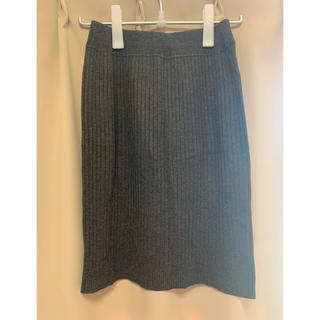 ユニクロ(UNIQLO)のユニクロ ウール風 タイトスカート(ひざ丈スカート)