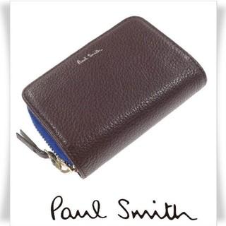 ポールスミス(Paul Smith)のPaul Smith 牛革 ラウンドファスナー小銭入れ財布 キーケース(コインケース/小銭入れ)