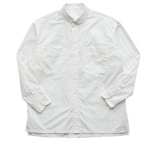 ポーター(PORTER)のポータークラシック《ワイドポケットシャツ》ホワイト(シャツ)