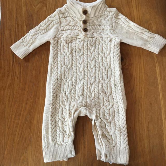 babyGAP(ベビーギャップ)のベビーギャップ ロンパース60 キッズ/ベビー/マタニティのベビー服(~85cm)(ロンパース)の商品写真