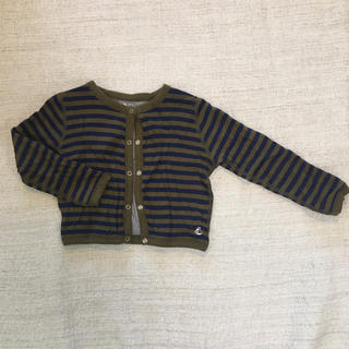 プチバトー(PETIT BATEAU)のプチバトー 羽織り(カーディガン)