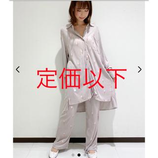 ジェラートピケ(gelato pique)のアイスシャツ&アイスロングパンツ(ルームウェア)
