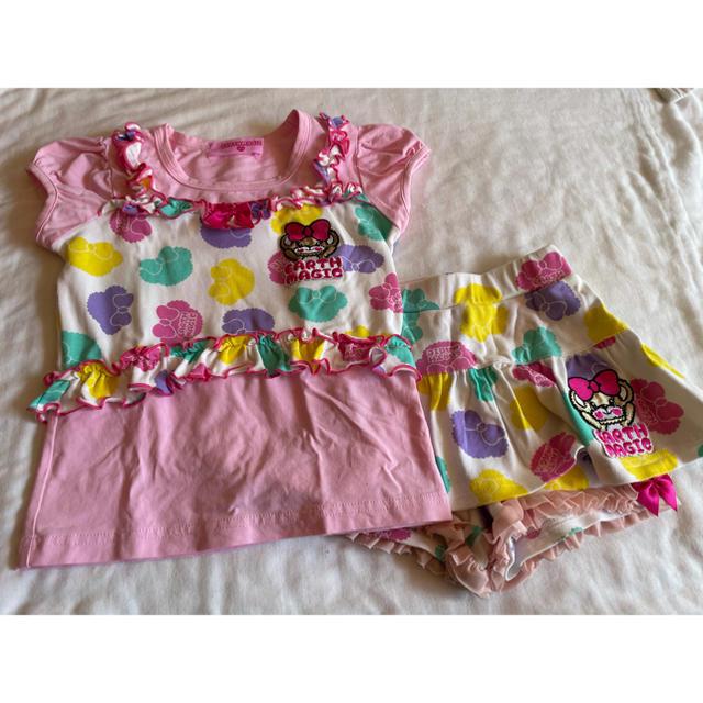 EARTHMAGIC(アースマジック)のシルエットセトア キッズ/ベビー/マタニティのキッズ服女の子用(90cm~)(Tシャツ/カットソー)の商品写真