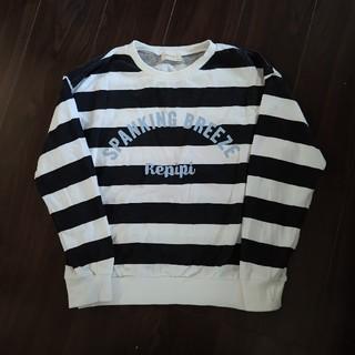 レピピアルマリオ(repipi armario)のレピピアルマリオ ボーダートレーナー(Tシャツ/カットソー)